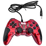 Mando Gaming Gamepad Rii GP500 con cable para PC Windows 98 XP 7 8 10 Juegos Playstation 3 STEAM....