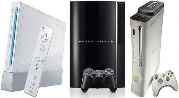 PS3 Xbox 360 Wii