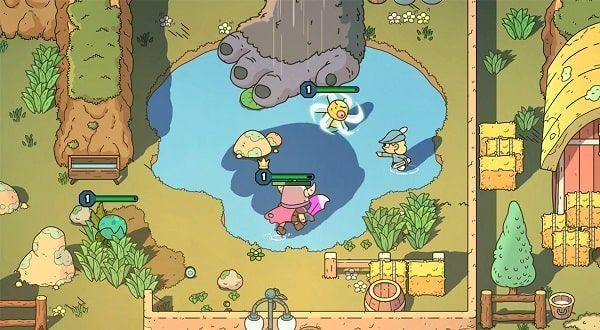 The sword of ditto cooperativo ps4